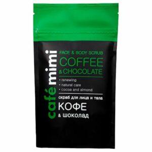 Exfoliante facial y corporal de café y chocolate | Café mimi