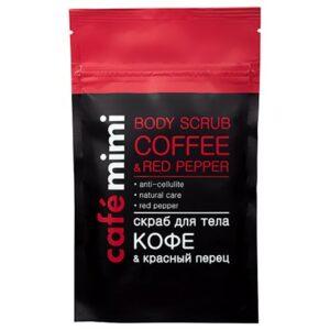 Exfoliante-shimmer corporal de café y pimienta | Café mimi