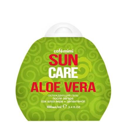 Gel Aftersun refrescante con Aloe vera | Café mimi