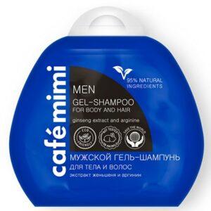 Gel de ducha & champú para hombre | Café mimi