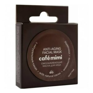 Mascarilla facial Chocoletto rejuvenecedora | Café mimi