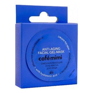 Mascarilla facial de gel Rejuvenecedora | Café mimi