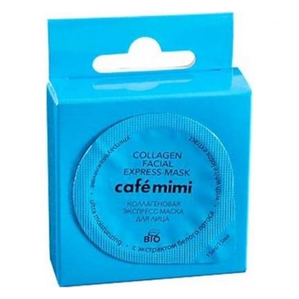 Mascarilla facial exprés de colágeno | Café mimi