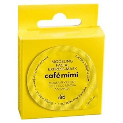 Mascarilla facial exprés remodeladora | Café mimi