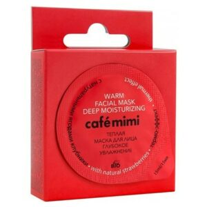 Mascarilla facial templada Hidratación profunda | Café mimi