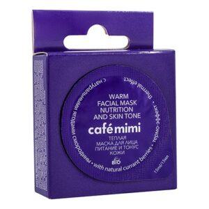 Mascarilla facial templada Nutrición y firmeza | Café mimi
