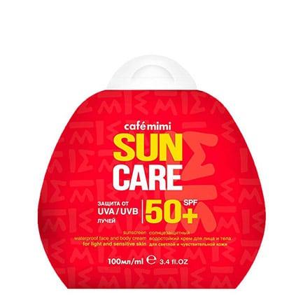 Protector solar SPF 50+ | Café mimi