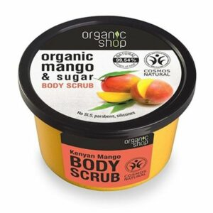 Exfoliante corporal mango de Kenya & azúcar | Organic shop