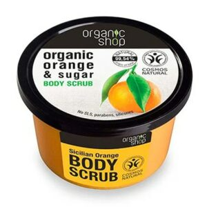 Exfoliante corporal naranja siciliana & azúcar | Organic shop