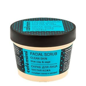 Exfoliante facial Piel limpia | Café mimi