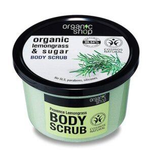 Exfoliante provence lemongrass & azúcar | Organic shop