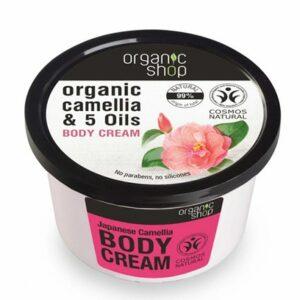 Crema corporal camelia japonesa & 5 aceites | Organic shop