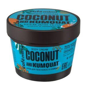 Crema corporal coco y kumquat | Café mimi