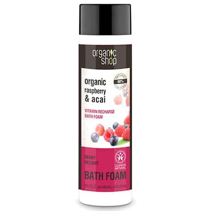 Espuma de baño recarga vitamínica deleite de las frutas del bosque | Organic shop
