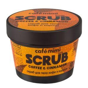 Exfoliante corporal café y canela | Café mimi