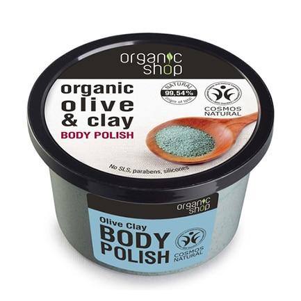 Exfoliante oliva orgánica & arcilla volcánica | Organic shop