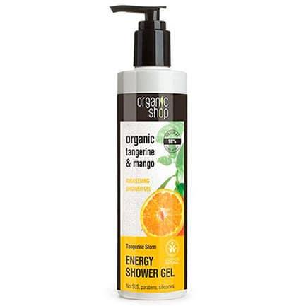 Gel de ducha energizante tormenta de mandarina | Organic shop