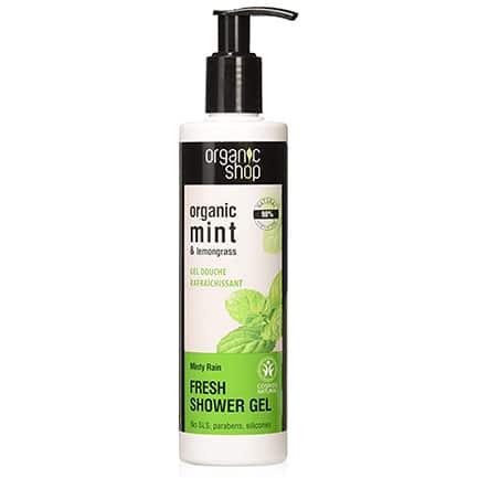 Gel de ducha refrescante lluvia mentolada | Organic shop