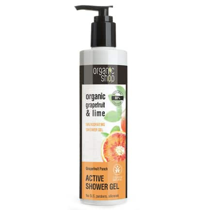 Gel de ducha tonificante toque de pomelo | Organic shop