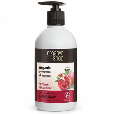Jabón de manos vitaminas pulsera de granada | Organic shop