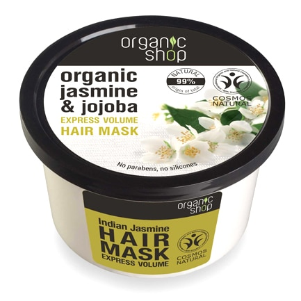 Mascarilla Volumen Express Jazmín de la India | Organic Shop