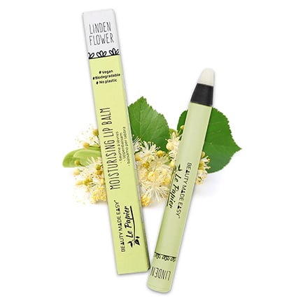 Bálsamo labial hidratante - LINDEN FLOWER | Beauty Made Easy