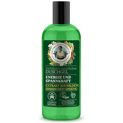Gel de ducha natural energizante y tonificante | Green Agafia
