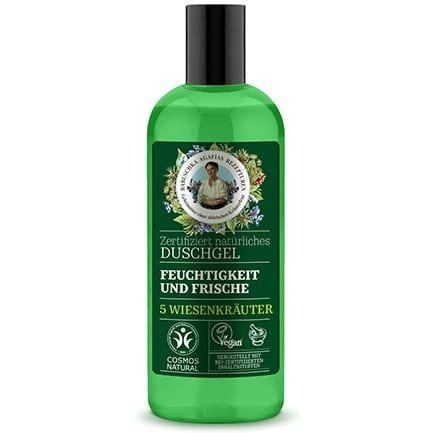Gel de ducha natural hidratante y refrescante | Green Agafia