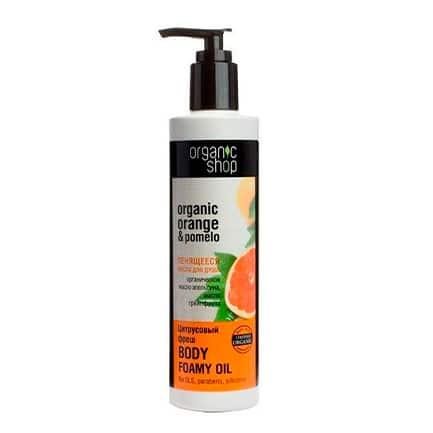 Aceite de baño espumoso frescura cítrica | Organic shop