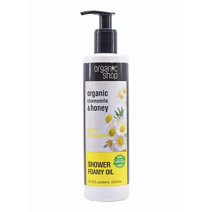 Aceite de baño espumoso miel & manzanilla | Organic shop