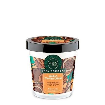 Crema corporal hidratante crema batida de vainilla | Organic shop