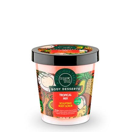 Exfoliante corporal modelador mezcla tropical | Organic shop