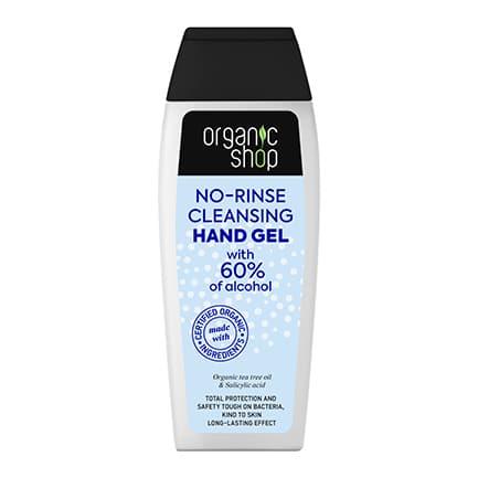 Gel limpiador higienizante sin aclarado 100 ml | Organic shop