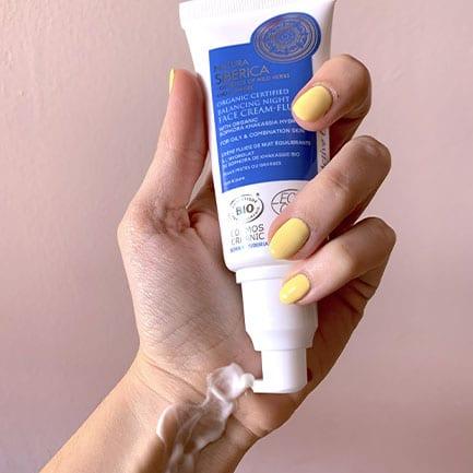 Hidrata la piel con crema facial