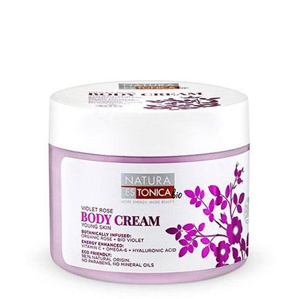 Crema corporal hidratante Rosa Violeta | Natura Estonica