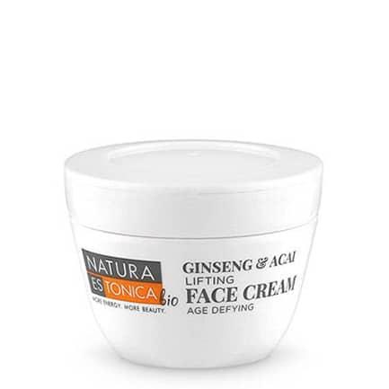 Crema facial Ginseng & Açai Efecto Lifting | Natura Estonica